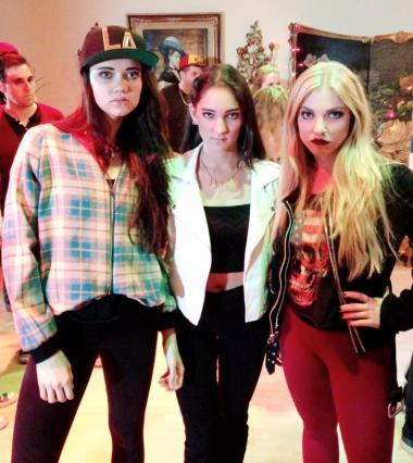Lindsay, Cameron, and Rachel