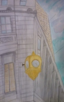 Corner Philly Clock