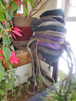 Growing winter hats